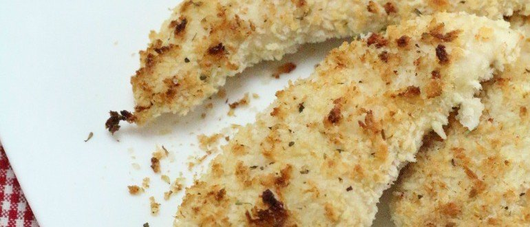 How to Make Chicken Tenders - Breaded & Baked Chicken Recipe