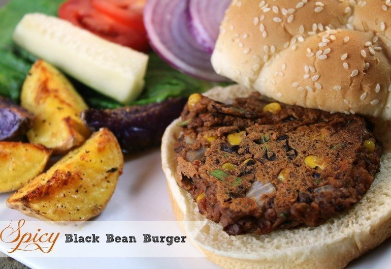 Black Bean Burger Recipe - BEST According to my Vegetarian Husband