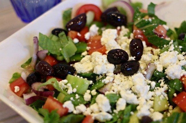 Greek+Salad+Recipe giveaway dad s greek salad recipe simplyrecipes com ...