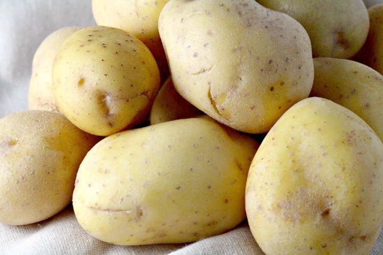 Yukon Gold Potato Fans Recipe — Dishmaps