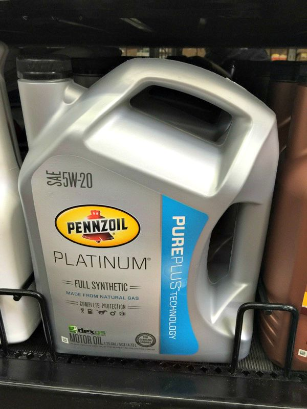 Oil change checklist with pennzoil oil menu of musings for Pennzoil full synthetic motor oil