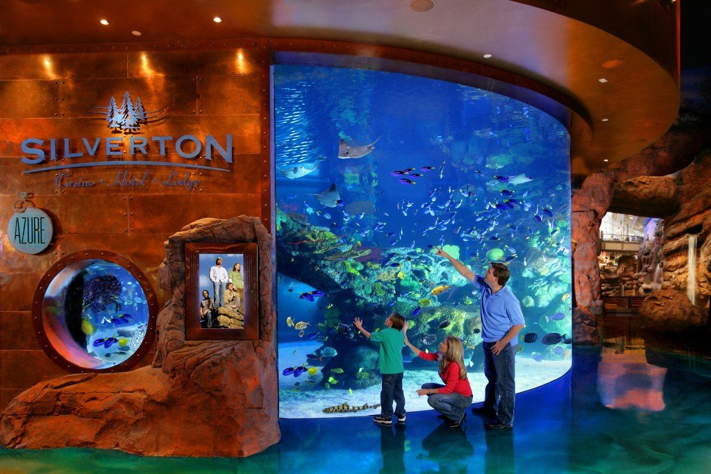 Bass Pro Shop At The Silverton Hotel In Las Vegas