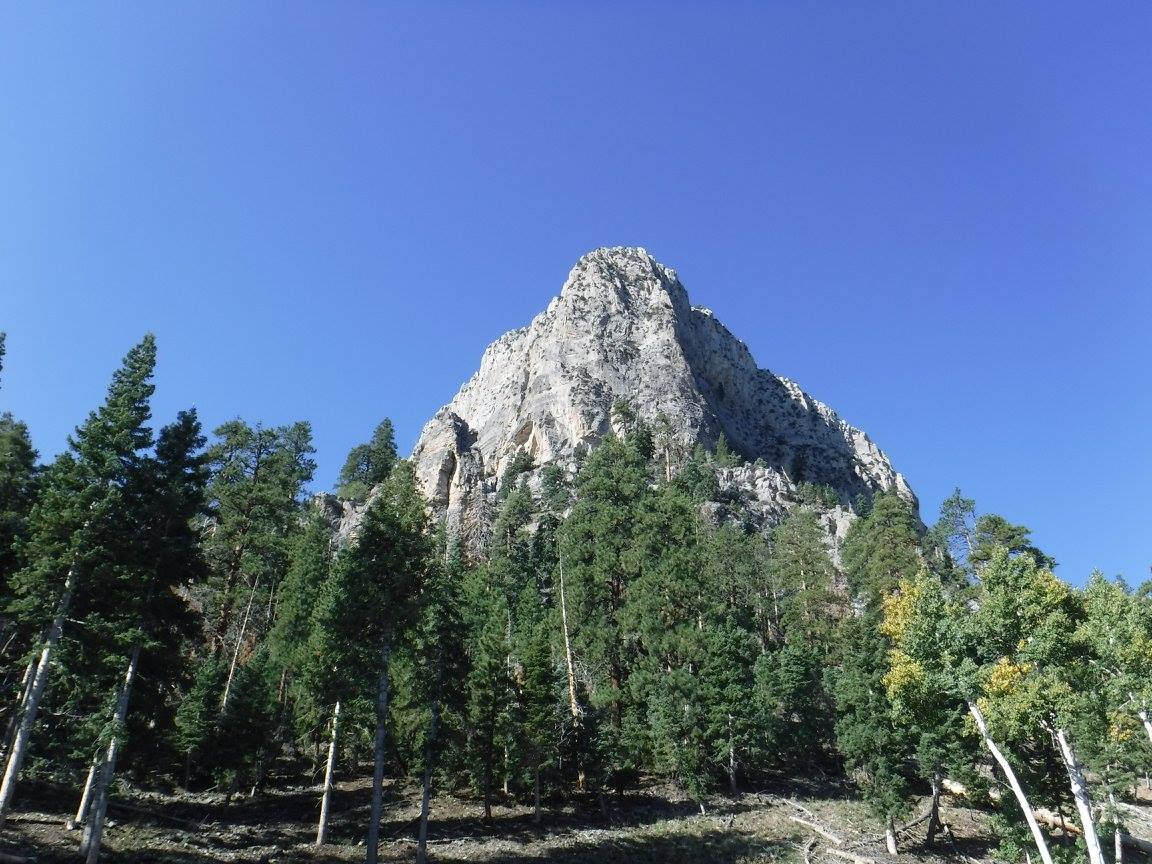Cathedral Rock Mt. Charleston 2