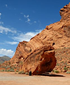 Lone Rock at the Valley of Fire