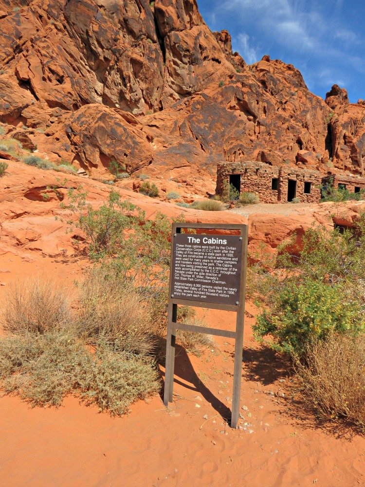 valley of fire state park cabins