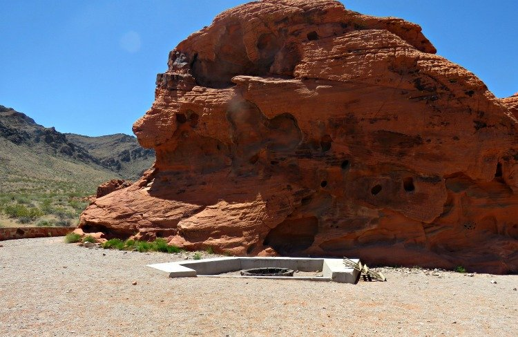 valley of fire group campground